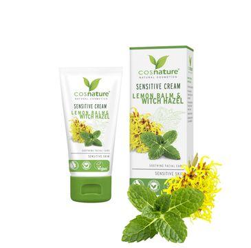 Cosnature Sensitive Cream naturalny łagodzący krem do skóry wrażliwej z melisą i oczarem wirginijskim (50 ml)