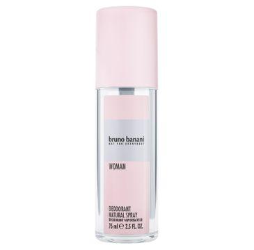 Bruno Banani Woman deodorant natural spray (75 ml)