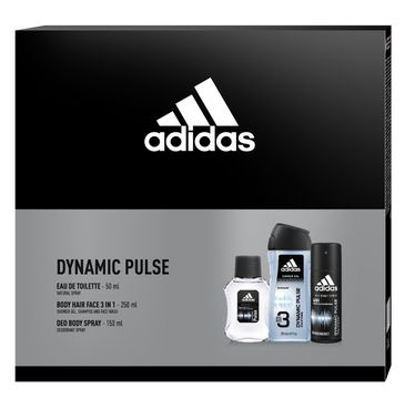 Adidas Zestaw prezentowy Climacool Men deo spray 150ml+żel pod prysz.3in1 250ml+woda toaletowa 50ml