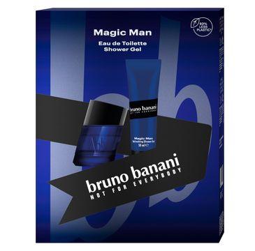 Bruno Banani Zestaw prezentowy Magic Men żel pod prysznic 50ml+woda toaletowa 30ml