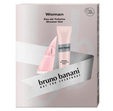 Bruno Banani Zestaw prezentowy Woman woda toaletowa 30ml+żel pod prysznic 50ml