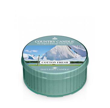 Country Candle Daylight świeczka zapachowa Cotton Fresh (35 g)