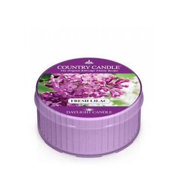 Country Candle Daylight świeczka zapachowa Fresh Lilac (35 g)