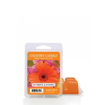 """Country Candle Wax wosk zapachowy """"potpourri"""" Sunshine & Daisies (64 g)"""