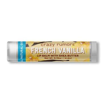 Crazy Rumors balsam do ust naturalny French Vanilla (4.4 ml)