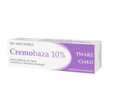 Cremobaza – 10% Mocznika krem półtłusty do skóry wrażliwej i skłonnej do alergii (30 g)