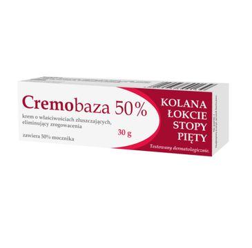 Cremobaza – 50% Mocznika krem o właściwościach złuszczających eliminujących zrogowacenia (30 g)
