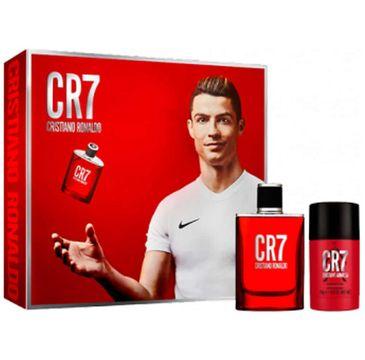 Cristiano Ronaldo CR7 zestaw woda toaletowa spray 50ml + dezodorant sztyft 75ml ( 1 szt.)