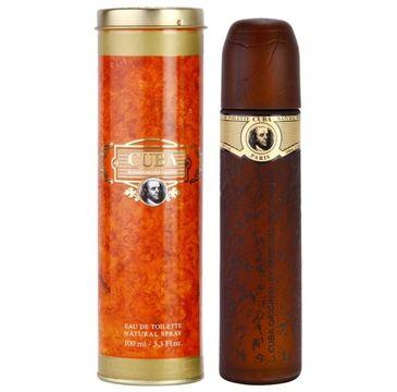 Cuba Original Cuba Gold woda toaletowa spray 100ml