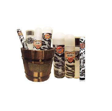Cuba Original Cuba Jungle Zebra zestaw woda perfumowana spray 100ml + woda perfumowana spray 35ml + dezodorant spray 200ml + balsam do ciała 130ml