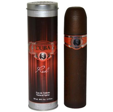 Cuba Original Cuba Red woda toaletowa spray 100ml