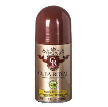 Cuba Original Cuba Royal dezodorant w kulce 50ml