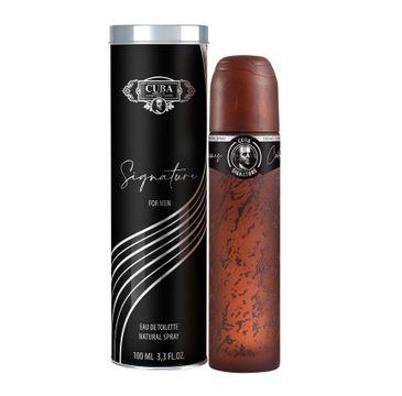 Cuba Original Cuba Signature For Men woda toaletowa spray (100 ml)