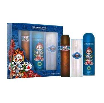 Cuba Original Cuba Wild Heart zestaw woda toaletowa spray 100ml + dezodorant spray 200ml + woda po goleniu 100ml