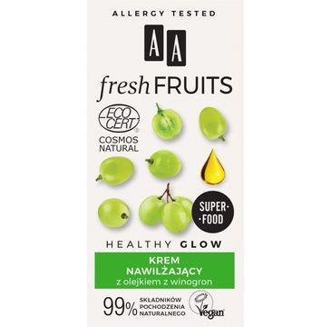 AA – Fresh Fruits krem nawilżający z olejkiem z winogrona (50 ml)