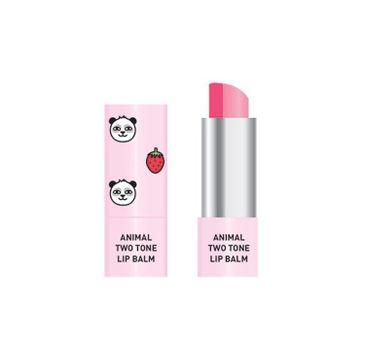 Skin79 Animal Two Tone Lip Balm – balsam do ust w sztyfcie Strawberry Panda (3.8 g)