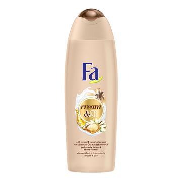 Fa Cream & Oil Shower Cream – kremowy żel pod prysznic Cacao Butter & Coco Oil (750 ml)