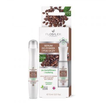 Floslek Pharma - serum do powiek i pod oczy ze świetlikiem i kofeiną (15 ml)