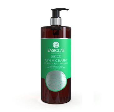BasicLab Micellis (płyn micelarny do skóry tłustej i wrażliwej 500 ml)