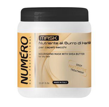 Numero – Nourishing Mask With Shea Butter odżywiająca maska z masłem shea (1000 ml)
