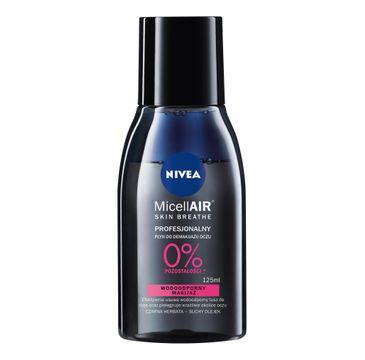 Nivea MicellAIR Skin Breathe - profesjonalny płyn do demakijażu oczu (125 ml)