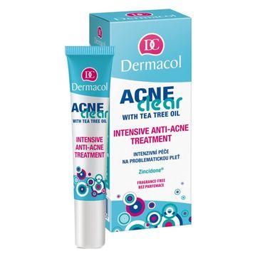 Dermacol – AcneClear Intensive Anti-Acne Treatment kuracja punktowa dla cery trądzikowej (15 ml)