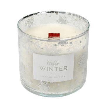 Artman – Boże Narodzenie Świeca zapachowa Hello Winter biała (1 szt.)