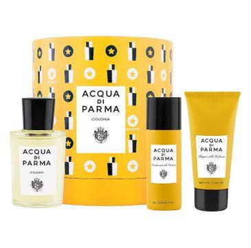 Acqua di Parma – Colonia zestaw woda kolońska 100ml + żel pod prysznic 75ml + dezodorant spray 50ml (1 szt.)