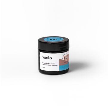 Melo – Detoksykująca maska do twarzy z Błotem z Morza Martwego (30 ml)