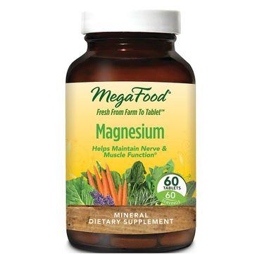 Mega Food Magnesium magnez suplement diety 60 tabletek
