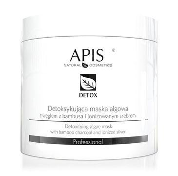 Apis – Detox Algae Mask detoksykująca maska algowa z węglem z bambusa i jonizowanym srebrem (250 g)