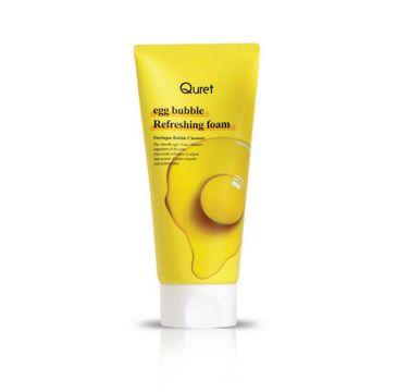 Quret – Egg Bubble Refreshing Foam odświeżająca pianka do mycia twarzy (170 g)