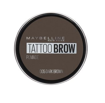 Maybelline Tattoo Brow Pomade pomada do brwi 005 Dark Brown 3.5ml
