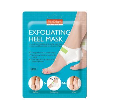 Purederm – Exfoliating Heel Mask maska złuszczająca na pięty (1 para)