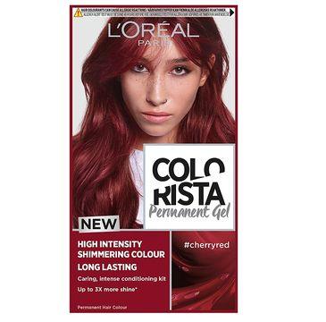 L'Oreal – Paris Colorista Permanent Gel trwała farba do włosów #cherryred (1 szt.)