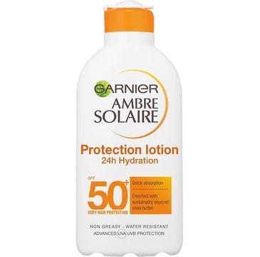 Garnier – Ambre Solaire Protection Lotion nawilżający balsam do opalania SPF50 (200 ml)