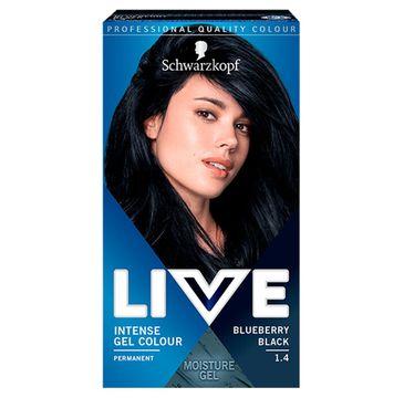 Schwarzkopf  – Live Intense Gel Colour koloryzacja do włosów w żelu 1.4 Blueberry Black (1 szt.)