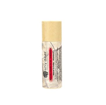 Shy Deer – Natural Lip Butter naturalne masełko do ust Truskawkowe (12 ml)