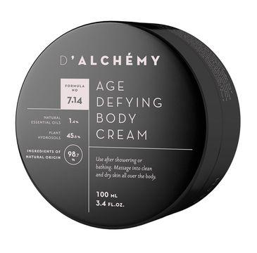 D'Alchemy Age Defying Body Cream przeciwstarzeniowy krem do ciała 100ml