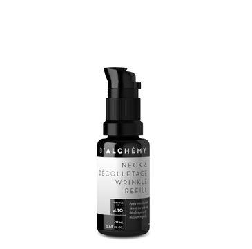 D'Alchemy – Neck & Decolletage Wrinkle Refill wypełniacz zmarszczek do szyi i dekoltu (20 ml)
