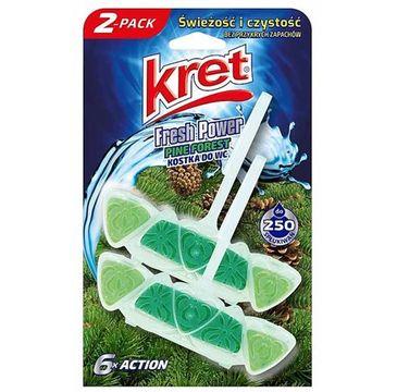 Kret – Fresh Power zawieszka do WC Pine Forest (2 x 40 g)