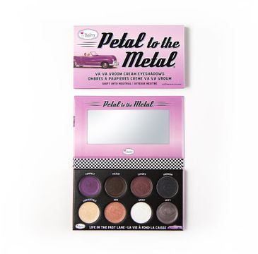 The Balm – Petal To The Metal Va Va Vroom Cream Eyeshadow Palette paleta cieni do powiek Shift Into Neutral (10.5 g)
