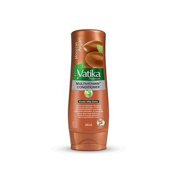 Dabur Vatika Argan Oil Multivitamin Conditioner nawilżająca odżywka do włosów Olej Arganowy (200 ml)