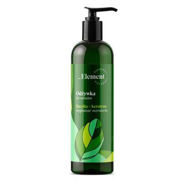 Vis Plantis Basil Element (odżywka wzmacniająca przeciw wypadaniu włosów 300 ml)