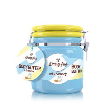 Dairy Fun masło do każdego typu skóry nawilżające mleko & miód 300 g