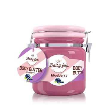 Dairy Fun masło do każdego typu skóry odżywiające jagoda 300 g