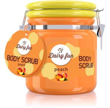 Dairy Fun peeling do każdego typu skóry brzoskwinia odżywczy 300 g