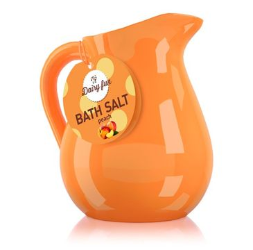 Dairy Fun sól do kąpieli brzoskwinia w dzbanuszku 500 g