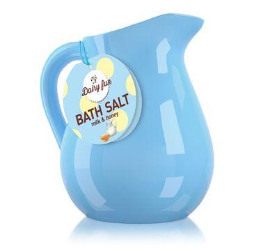 Dairy Fun sól do kąpieli mleko miód w dzbanuszku 500 g