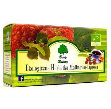 Dary Natury Ekologiczna Herbatka Malinowo-Lipowa 20x2.5g